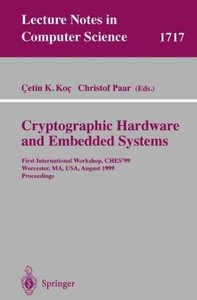 Cryptographic Hardware and Embedded Systems