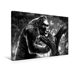 Premium Textil-Leinwand 45 cm x 30 cm quer King Kong