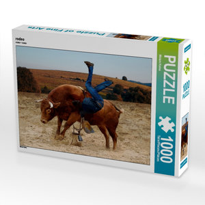 rodeo 1000 Teile Puzzle quer