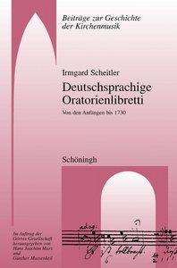 Deutschsprachige Oratorienlibretti