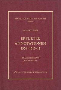 Erfurter Annotationen 1509-1510/11