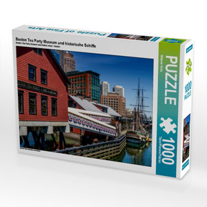 CALVENDO Puzzle Boston Tea Party Museum und historische Schiffe