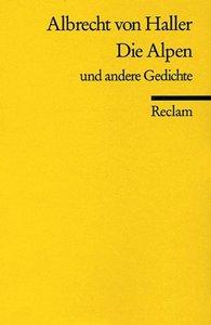Die Alpen und andere Gedichte