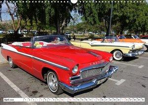 Ein New Yorker in Havanna - Chryslers Flaggschiff 1956 (Wandkale