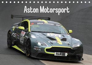 Aston Motorsport (Tischkalender 2019 DIN A5 quer)