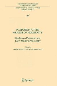 Platonism at the Origins of Modernity