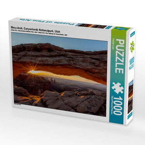 Mesa Arch, Canyonlands Nationalpark, Utah 1000 Teile Puzzle quer