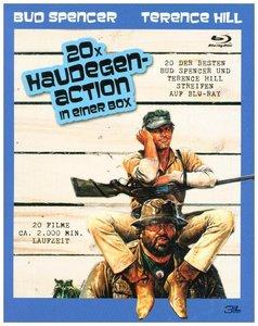 Bud Spencer/Terence Hill - 20 mal Haudegen-Action, Blu-ray