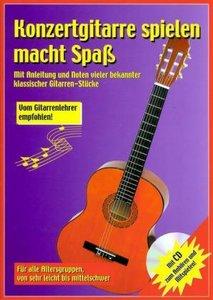 Konzertgitarre spielen macht Spaß