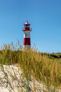 Premium Textil-Leinwand 80 cm x 120 cm hoch Leuchtturm