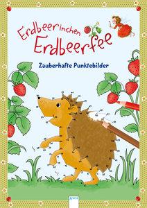 Erdbeerinchen Erdbeerfee. Zauberhafte Punktebilder