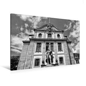 Premium Textil-Leinwand 120 cm x 80 cm quer Karl August Graf von