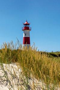 Premium Textil-Leinwand 30 cm x 45 cm hoch Leuchtturm