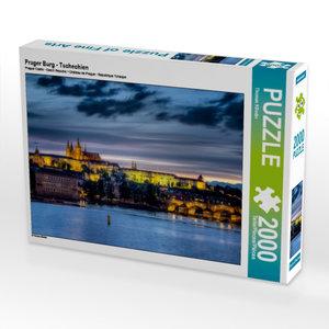 Prager Burg - Tschechien 2000 Teile Puzzle quer