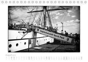 Gorch Fock - zeitlose Eindrücke (Tischkalender 2019 DIN A5 quer)