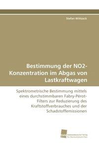 Bestimmung der NO2-Konzentration im Abgas von Lastkraftwagen