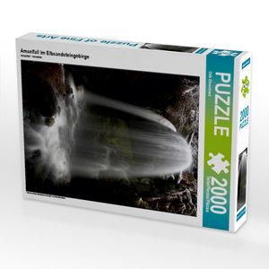 CALVENDO Puzzle Amselfall im Elbsandsteingebirge 2000 Teile Lege