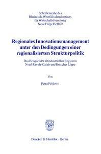 Regionales Innovationsmanagement unter den Bedingungen einer reg