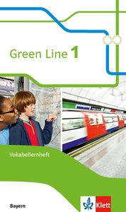 Green Line. Vokabellernheft 5. Schuljahr. Ausgabe Bayern ab 2017