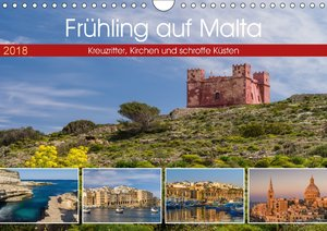 Frühling auf Malta - Kreuzritter, Kirchen und schroffe Küsten