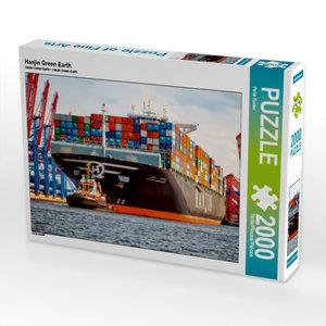 Hanjin Green Earth 2000 Teile Puzzle quer