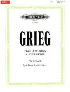 Klavierwerke - Band 1: Lyrische Stücke - Hefte 1 - 10 / URTEXT