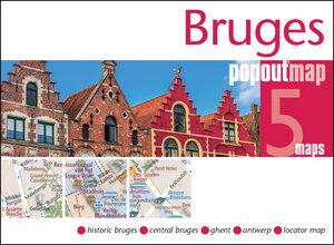 Popout Map Bruges