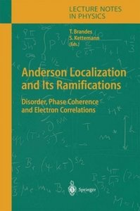 Anderson Localization and Its Ramifications