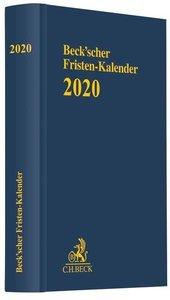 Beck\'scher Fristen-Kalender 2020