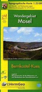 Bernkastel-Kues 1 : 25 000 Wandergebiet Mosel