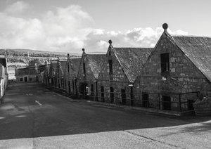 Schottland in Schwarz-Weiß (Posterbuch DIN A4 quer)