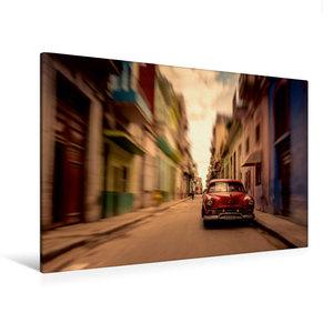 Premium Textil-Leinwand 120 cm x 80 cm quer Havanna