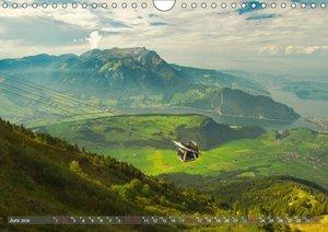 Der Zauber der Schweizer Berge (Wandkalender 2019 DIN A4 quer)