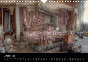 Lost Places - Beauty of decay (Wall Calendar 2020 DIN A4 Landsca