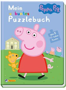 Peppa: Mein buntes Puzzlebuch