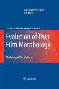 Evolution of Thin-Film Morphology