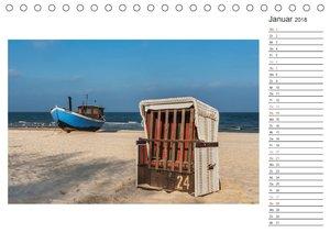 Zeit für Erholung - Insel Usedom / Geburtstagskalender