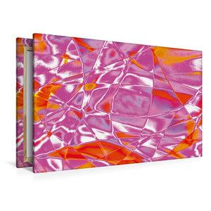 Premium Textil-Leinwand 120 cm x 80 cm quer Vibrationen