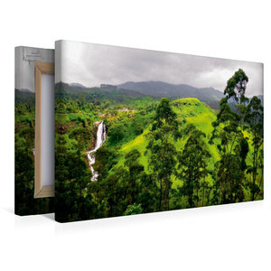 Premium Textil-Leinwand 45 cm x 30 cm quer Sri Lanka Highlands W