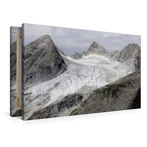 Premium Textil-Leinwand 90 cm x 60 cm quer Reichenspitzgruppe