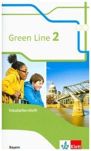 Green Line 2. Ausgabe Bayern. Vokabellernheft 6. Klasse