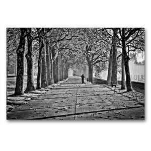 Premium Textil-Leinwand 90 cm x 60 cm quer Herbstimpression an d