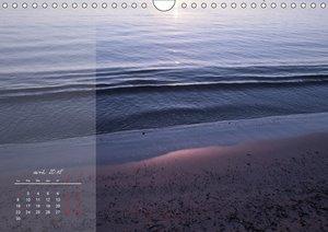 Les mémoires violettes de la mer (Calendrier mural 2018 DIN A4 h