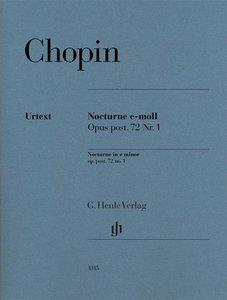 Nocturne e-moll op. post. 72,1