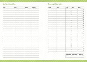 Floral 17-Monats-Kalenderbuch A6 2019