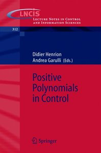 Positive Polynomials in Control
