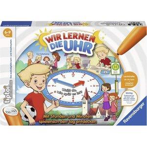 Ravensburger 00847 - Tiptoi, Wir lernen die Uhr, Lernspiel
