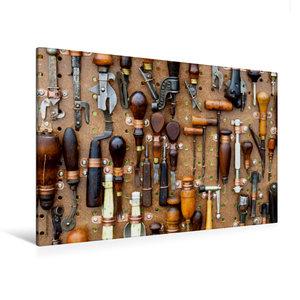Premium Textil-Leinwand 120 cm x 80 cm quer Werkzeug