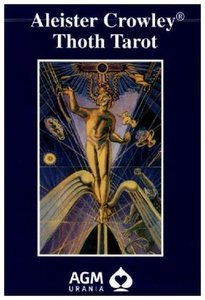 Crowley Thoth Tarot. De Luxe Ausgabe. 80 Karten