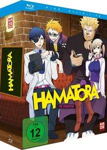 Hamatora - Blu-ray Vol. 1 + Sammelschuber + Manga Band 1